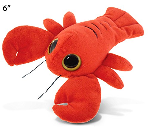 Puzzled Big Eye Lobster Plush, 6""