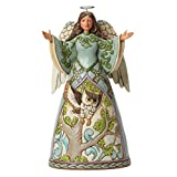 Jim Shore Heartwood Creek The Way Of Wisdom Angel with Owl Dress 4040794