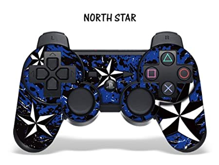 Protective Skin for Playstation 3 Remote Controller - Northstar Blue
