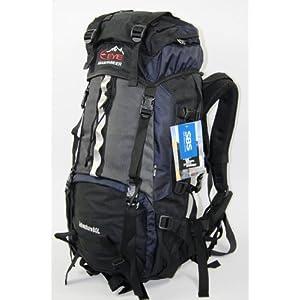 Brand New Dark Blue Eye Mountaineer New 80L Rucksack Backpack Camping Hiking