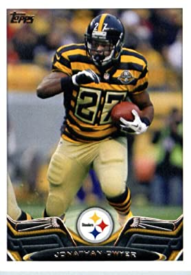 2013 Topps Football Card #82 Jonathan Dwyer - Pittsburgh Steelers - NFL Trading Cards