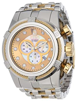 Jason Taylor for Invicta Collection 12952 BOLT Zeus Chronograph Mother-Of-Pearl Dial Stainless Steel Watc from Invicta