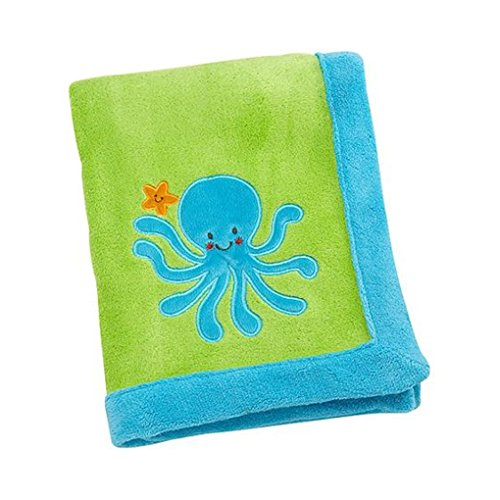 Baby Soft Octopus Marine Themed Blanket - 1