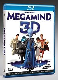 MegaMind Blu-ray 3D