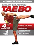 Tae Bo Platinum Collection 4 Workouts in 1 DVD: Cardio Explosion, Insane Abs, Ripped Extreme , Max Intensity - Billy Blanks - region 0 Worldwide