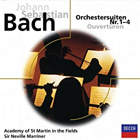 J.S. Bach: Suite No.4 in D, BWV 1069 - 4. Menuet I-II