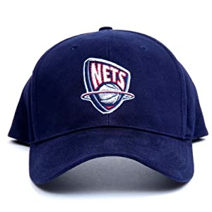 NBA New Jersey Nets LED Light-Up Logo Adjustable Hat by Lightwear