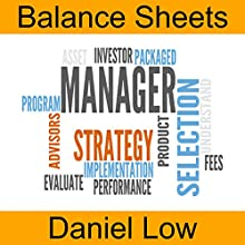 Balance Sheets Audiobook by Daniel Low Narrated by Daniel Low