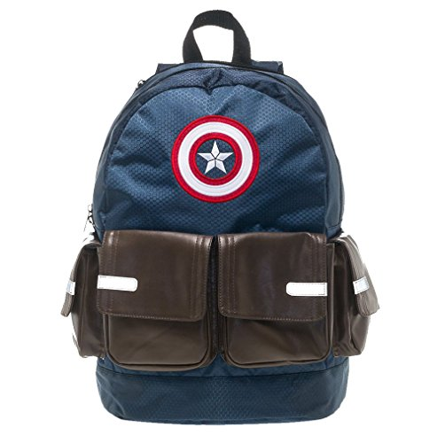 Marvel Avengers Captain America Suit Up Backpack