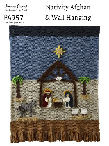 Crochet Pattern Nativity Wallhanging