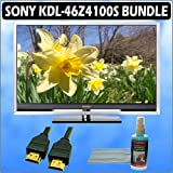 Sony Bravia Z-Series KDL-46Z4100S 46in. 1080P Silver and Accessory Outfit With Flat Panel LCD/ Plasm