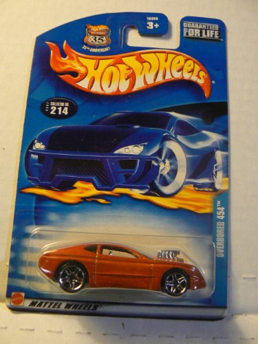 Hot Wheels Overbored 454 2002 #214 on Guaranteed for Life Card Variation