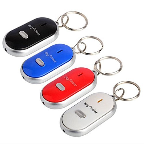 Functional Whistle Lost Key Finder Locator Sound Control Electronic Find Keychai (Key Chain With Sound Locator compare prices)