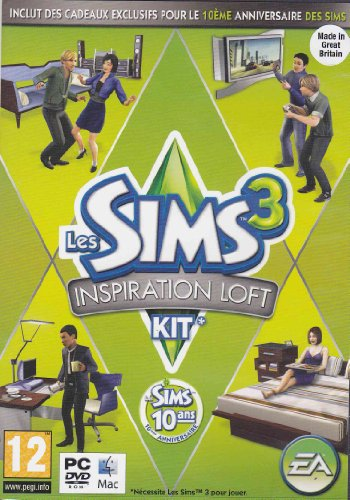 Les Sims 3: Inspiration Loft Expansion - French Only (High End Loft Stuff)