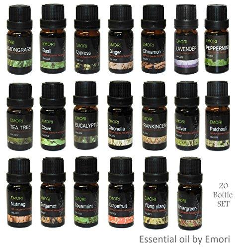 100-Pure-Essential-Oil-20-Bottle-Combo-Set-10ml-Each-Therapeutic-Grade
