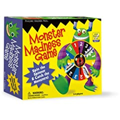 Amazon.com: TG3 - Monster Madness Board Game: Peaceable Kingdom Press, Chris Lensch: Books