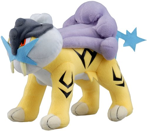 Raikou Pokémon Gold & Silver Legendary Beast Plushie