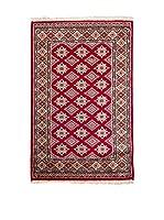 Navaei & Co. Alfombra Kashmir Rojo/Multicolor 123 x 77 cm