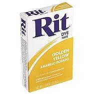 Phoenix Brands 42 Rit Tint And Powder Dye-GOLDEN YELLOW POWDER DYE