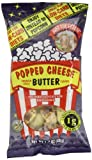 Just the Cheese Popped Cheese, Butter Flavor, 1.7-Ounce Bags (Pack of 6)