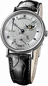 Breguet Classique Power Reserve Men's White Gold Automatic Moonphase Watch 7137BB/11/9V6