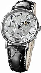 Breguet Classique Power Reserve Men's White Gold Automatic Moonphase Watch 7137BB/11/9V6