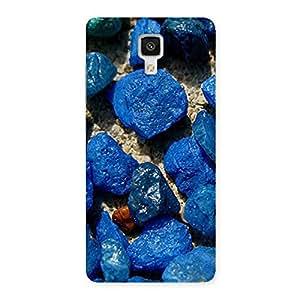 Cute Premier Blue Rocks Multicolor Back Case Cover for Xiaomi Mi 4