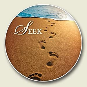Seek beach scene absorbent stone auto car cup holder coaster christian gifts for - Stone absorbent coasters ...