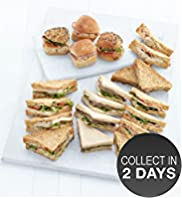 Meat Sandwich & Roll Selection (20 pieces)
