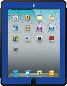 OtterBox Defender Series Case with Screen Protector and Stand for the iPad (4th Generation), iPad 2 and 3 - Navy/Blue