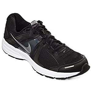 Nike Dart 10 Men's Running Shoe (10 4E US, BLACK/ANTHRACITE/WHITE/MTLC COOL GREY)