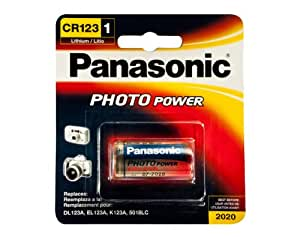 buy panasonic cr 123 photo battery 3v lithium 1 pack online at low price in india panasonic. Black Bedroom Furniture Sets. Home Design Ideas