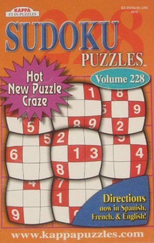 Sudoku Puzzles Volumes vary See sellers for Vol #(Directions in Spanish, French & English) - 1