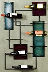 Southern Enterprises Wine Storage Wall Sculpture,24'Wx38.5'H