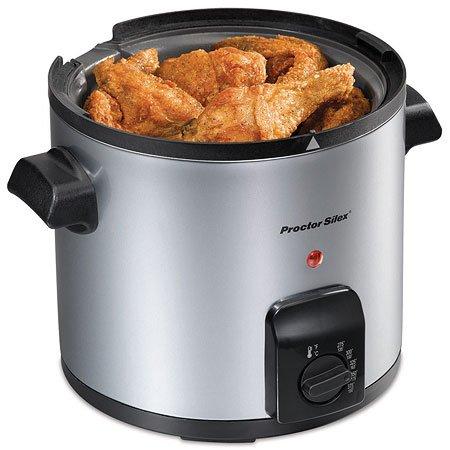 Proctor Silex 4-Cup Oil Capacity Deep Fryer