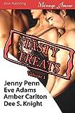 img - for Tasty Treats Anthology, Volume 1 [Rachel's Seduction, Riding Lessons, MacKenzie's Meltdown, the Elixir] (Siren Menage Amour) book / textbook / text book