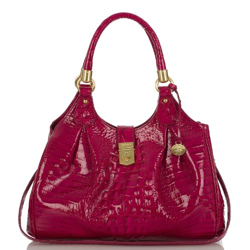 Elisa Hobo Bag<br>Glossy Melbourne Rouge