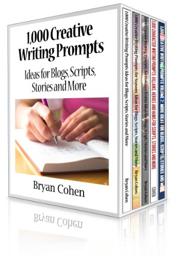 1,000 Creative Writing Prompts Box Set by Bryan Cohen ebook deal