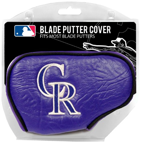 Mlb Colorado Rockies Blade Putter Cover Purple Sharon D