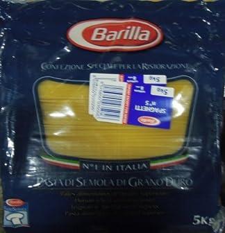 バリラ No.5 スパゲッティー 5kg [並行輸入品]