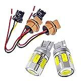 LEDウインカーポジションキット T20 ダブル 面発光ツインカラー SMD 【白/橙】T20 アンバー 均一発光