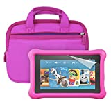 """Fire Kids Edition Essentials Bundle including Fire Kids Edition, 7"""" Display, Wi-Fi, 8 GB, Pink Kid-Proof Case, Nupro Screen Protector, Belkin Car Charger and Verso Sleeve video review"""