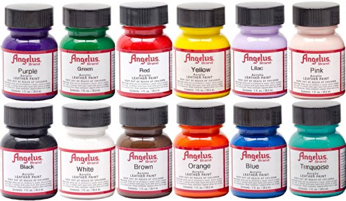 Angelus Acrylic Leather Paint Starter Kit (Angelus Leather Dye compare prices)