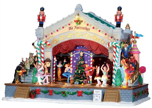 Lemax Sights & Sounds Animated Nutcracker Suite Musical Production #05071