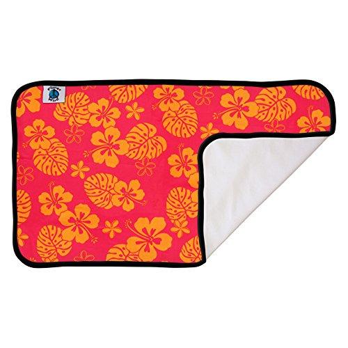 Planet Wise Designer Waterproof Diaper Pad, Pink Hawaii