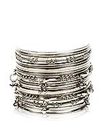 Amrita Singh Set de brazaletes Mumbai Silver
