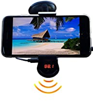 FM Transmitter With Phone Holder – Ma…