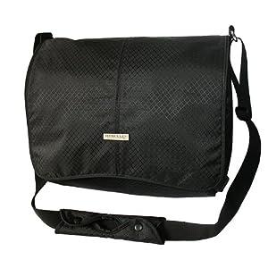 "Hercules ""Super Strong"" LP-1700BK 17-Inch Laptop Messenger Bag (Black)"