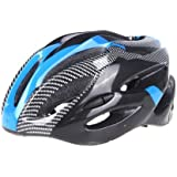 dodocool New Fashion Sports Bike Bicycle Cycling Safety Helmet with Removable Visor Carbon Fiber for Unisex Adult