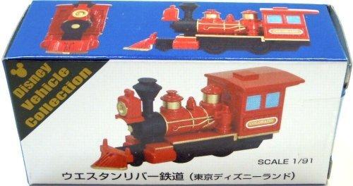 [Tokyo Disney Resort Western River Railroad (red) Tomica] TDR DISNEY Vehicle Collection TDL WESTERN RIVER RAILROAD Tomica (japan import)